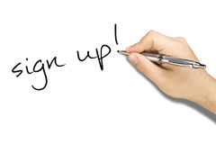 hand-writing-sign-up-ballpoint-male-white-sheet-41458871
