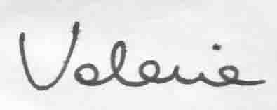 firma Valeria