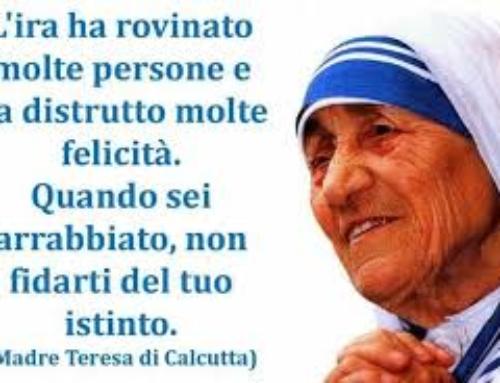 Madre Teresa di Calcutta nella grafia e nei Fiori di Bach.